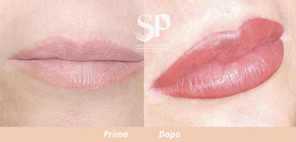 Trucco permanente labbra by Sonia Pignataro