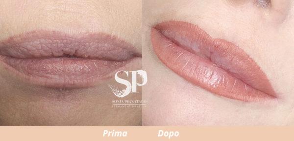 Trucco permanente labbra a Roma sonia pignataro