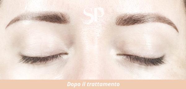 Un lavoro di dermopigmentazione eseguito da Sonia Pignataro a Roma