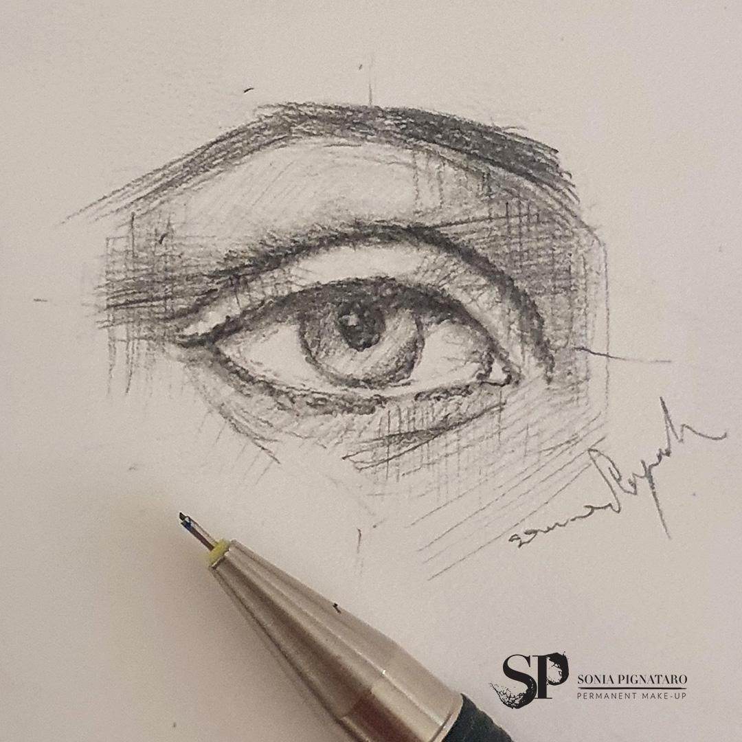 studio occhio e sopracciglio