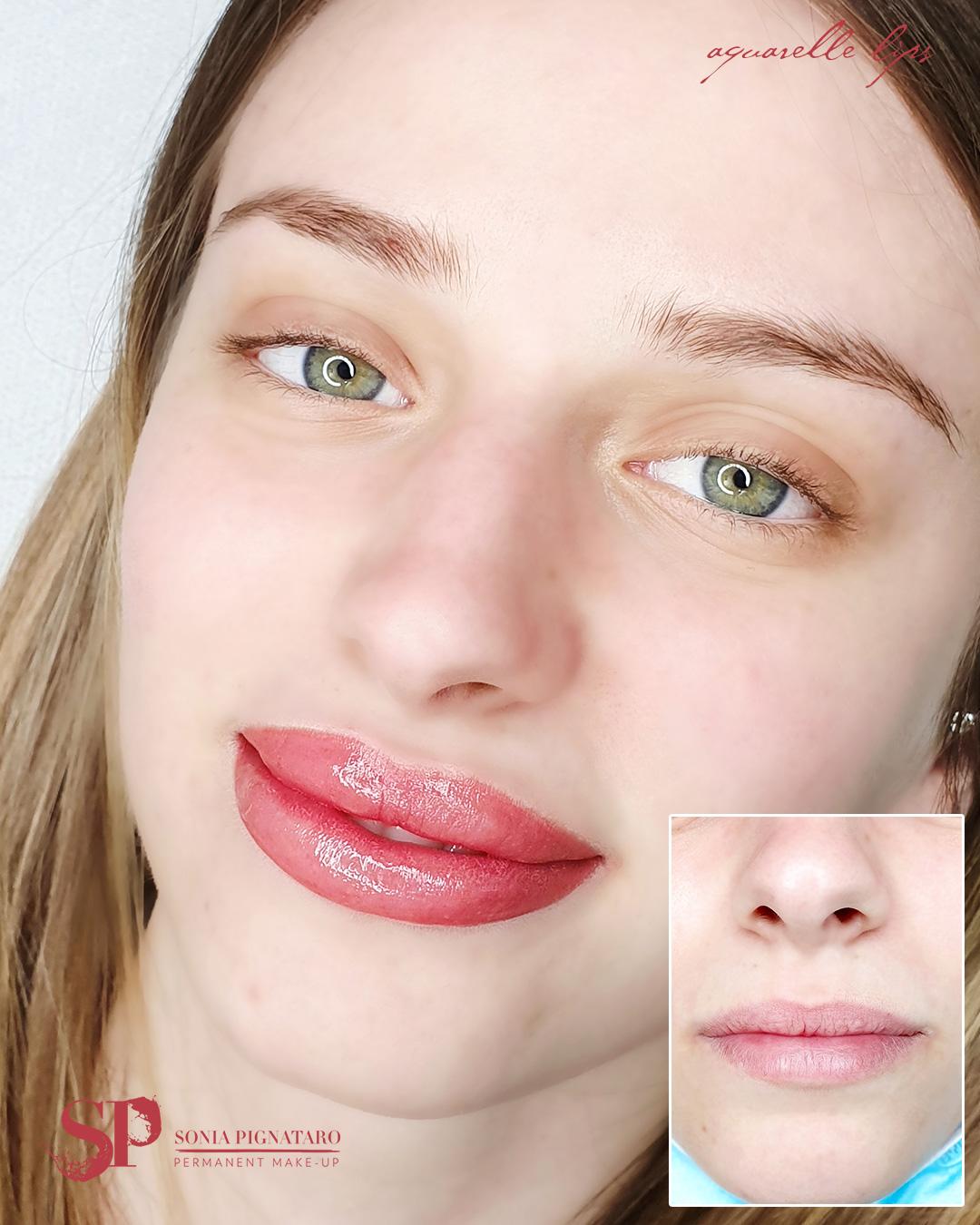 come ho rimodellato le labbra con il trucco semipermanente